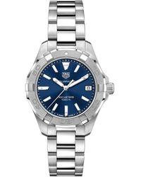 Tag Heuer Women's Aquaracer Watch - Metallic