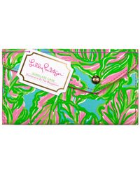 Lilly Pulitzer Sunglass Case - Green
