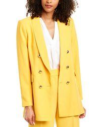 T Tahari Jacket - Yellow