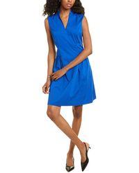 Elie Tahari Jessy Dress - Blue