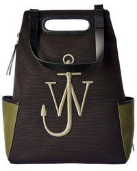 JW Anderson Logo Canvas Backpack - Multicolor