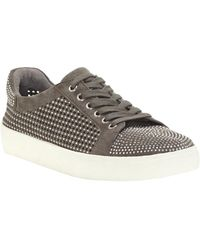 Vince Camuto Chenta Suede Sneaker - Grey