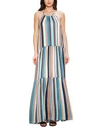 a. calin Maxi Dress - Blue