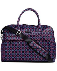 Vera Bradley Perfect Companion Travel Bag - Blue