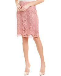 Tahari Tahari Asl Pencil Skirt - Pink