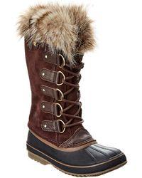 Sorel Joan Of Arctic Waterproof Suede Boot - Brown