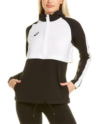 Asics Stretch Woven Track Top - Black