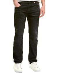 7 For All Mankind 7 For All Mankind Slimmy Washed Black Slim Leg