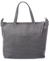 Balenciaga Aj Leather Weekender - Multicolour