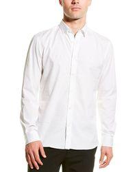 Burberry - Monogram Motif Stretch Poplin Slim Fit Woven Shirt - Lyst