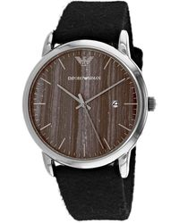 Armani Luigi Watch - Metallic