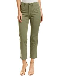 AG Jeans - Wes Sulfur Olive Utilitarian Straight Leg - Lyst