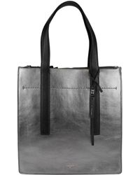 T Tahari - Colour & Black Ns Leather Tote - Lyst