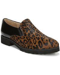 Naturalizer Geraldine Leather Slip-on Flat - Brown