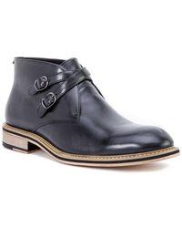 Hart Schaffner Marx Bolder Leather Boot - Blue