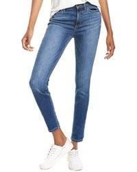 Sneak Peek Mid-rise Straight Leg Jean - Blue