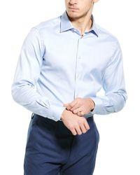 Ermenegildo Zegna Woven Shirt - Blue