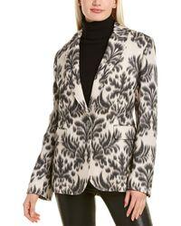 Les Copains Wool-blend Jacket - Natural