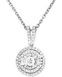 Diana M. Jewels - . Fine Jewelry 14k 0.93 Ct. Tw. Diamond Necklace - Lyst