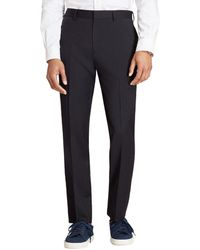 Brooks Brothers Wool Twill Suit Trouser - Blue