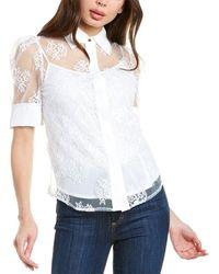 Gracia Lace Top - White