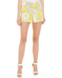 Trina Turk Link Short - Yellow