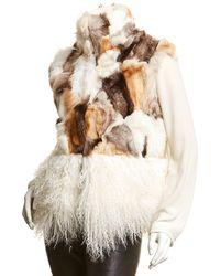 Adrienne Landau Mix Vest - Multicolor