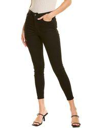 Ksubi Slim Pin Pitch Black Skinny Leg Jean