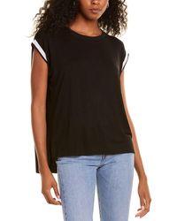 Lea & Viola Plain T-shirt - Black
