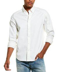 G-Star RAW Raw Stalt Straight Woven Shirt - White
