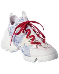 Dior D-connect Trainer - White