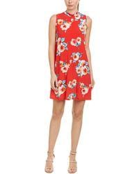 Peach Love CA - Mock Shift Dress - Lyst