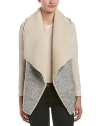 Soft Joie Breese Wool-blend Vest - Gray
