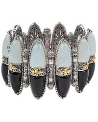 Konstantino 18k & Silver Gemstone Bracelet - Metallic