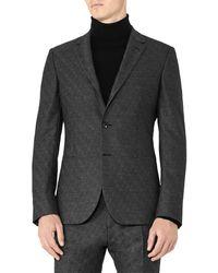 Reiss Charding Wool-blend B Modern Fit Jacket - Grey