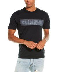 C.P. Company C. P. Company Logo T-shirt - Black