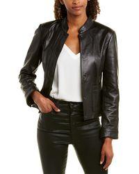 Brooks Brothers - Leather Jacket - Lyst