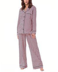 Cosabella 2pc Bella Lite Sleepwear Set - Red
