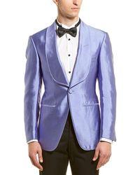 Tom Ford Silk Sport Coat - Purple