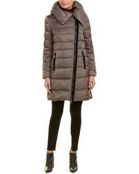 Tahari Brooklyn Puffer Coat - Multicolour