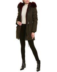 Mackage Rena F Leather-trim Parka - Multicolour