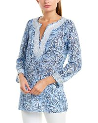 Sail To Sable Tunic - Blue