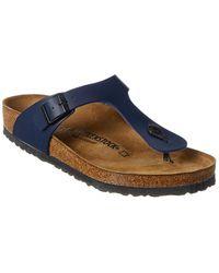 Birkenstock Gizeh Sandal - Blue