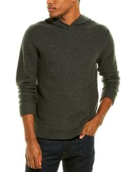 James Perse Cashmere Hoodie - Gray