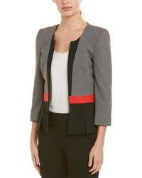 Nissa Suit Jacket - Grey