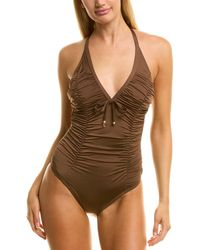 Shan Tradition One-piece - Brown