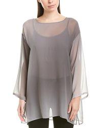 Eileen Fisher Silk Ombré Tunic - Grey