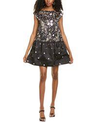 AMUR Avril Mini Dress - Black