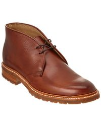 Frye - James Lugg Leather Chukka Boot - Lyst