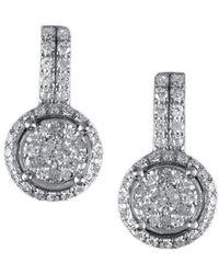 Effy 14k 0.54 Ct. Tw. Diamond Earrings - Metallic